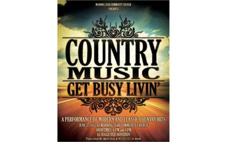 Country Music Night Poster (164)