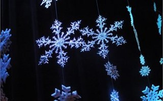Hanging Snowflakes