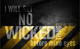 Wicked Thing Background PSD