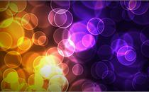 Orange & Purple Bokehs