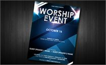 Worship Event Flyer