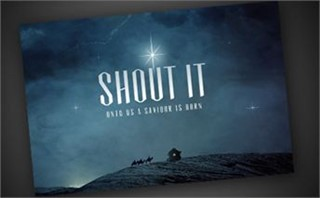Shout It | Postcard