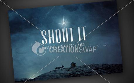 Shout It | Postcard (10626)