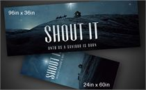 Shout It | Banners