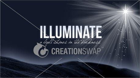Illuminate; a light shines (10781)