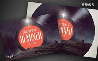Christmas Remixed | Postcard