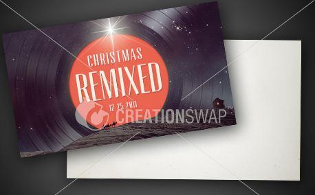 Christmas Remixed | Invite (10912)