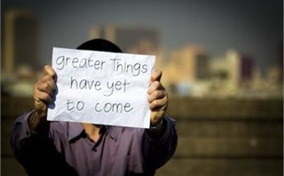 Greater Things Have Yet To Com