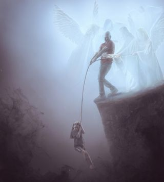 Angels helping