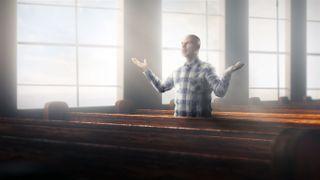 Worship alone in church
