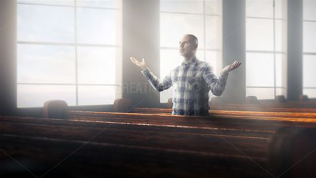 Worship alone in church (100082)