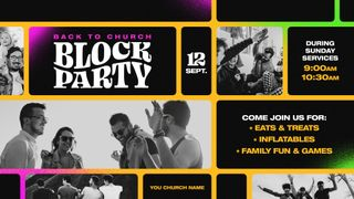 Back To Church Block Party