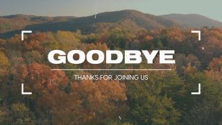 Autumn Film Goodbye