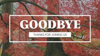 Fall Leaves Goodbye