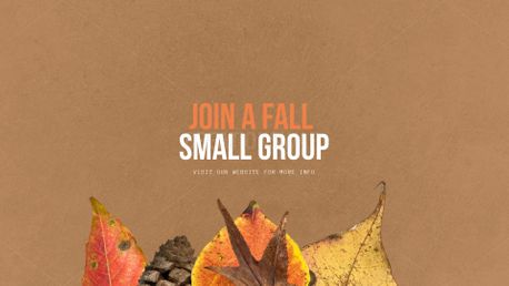 Small groups (100324)