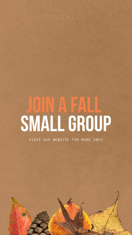 Small groups (100325)
