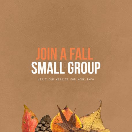 Small groups (100326)