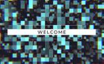Blocky RGB Welcome (100380)