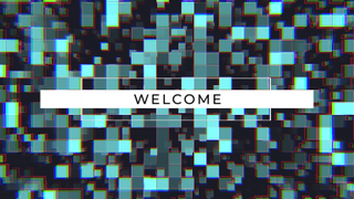Blocky RGB Welcome