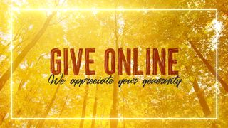 Fall Give Online Slide