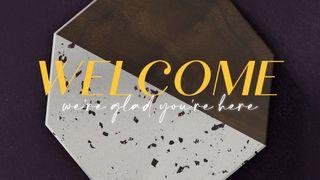Terrazzo Tile : Welcome