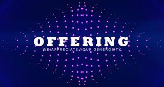Dots Offering Slide