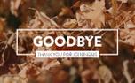 Autumn Leaves Goodbye (100550)