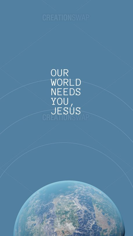 Our world needs you, Jesus (100579)