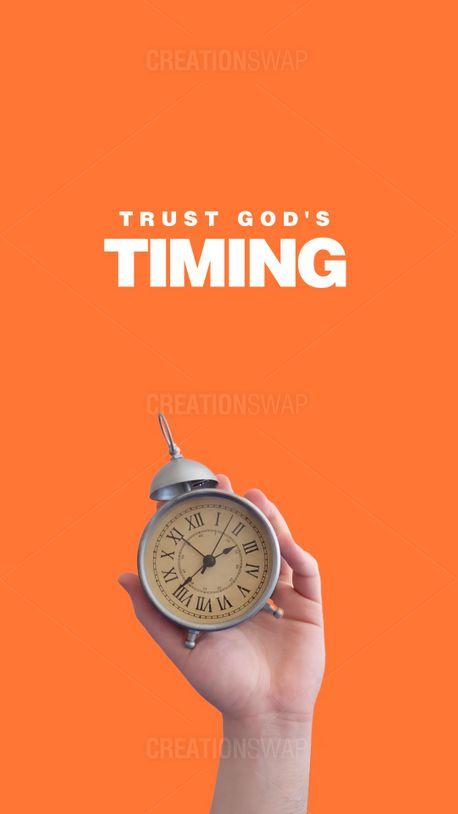 Trust God's Timing (100583)