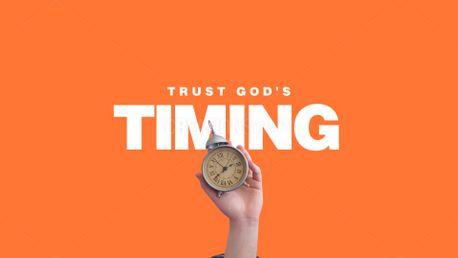 Trust God's Timing (100584)