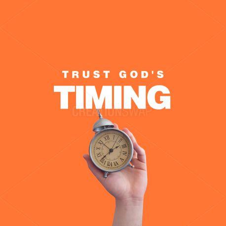 Trust God's Timing (100586)