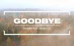 Fall Flight Goodbye (100655)
