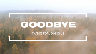 Fall Flight Goodbye