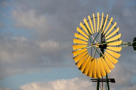 Windmill during a storm  (100728)