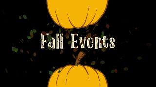 Fall Events Title Motion Loop