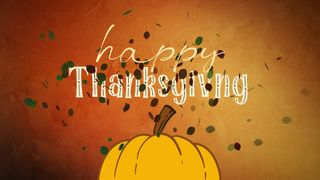 Happy Thanksgiving MotionTitle