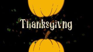 Thanksgiving Pumpkin Motion