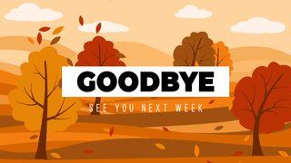 Goodbye Autumn Trees