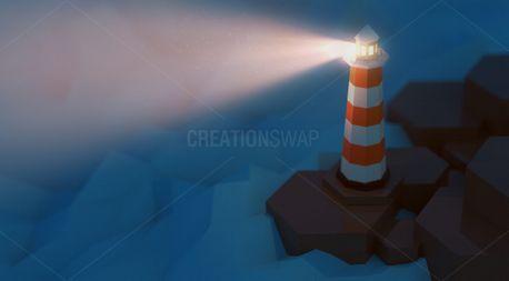 Lighthouse Illustration (100814)