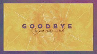 Yellow Fall Goodbye Slide