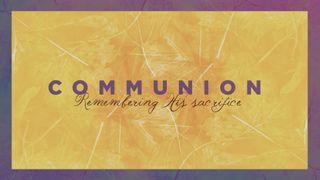 Yellow Fall Communion Slide