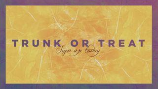Yellow Fall Trunk or Treat