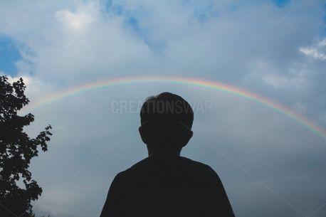 Boy and Rainbow (100852)