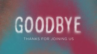 Spray Paint : Goodbye