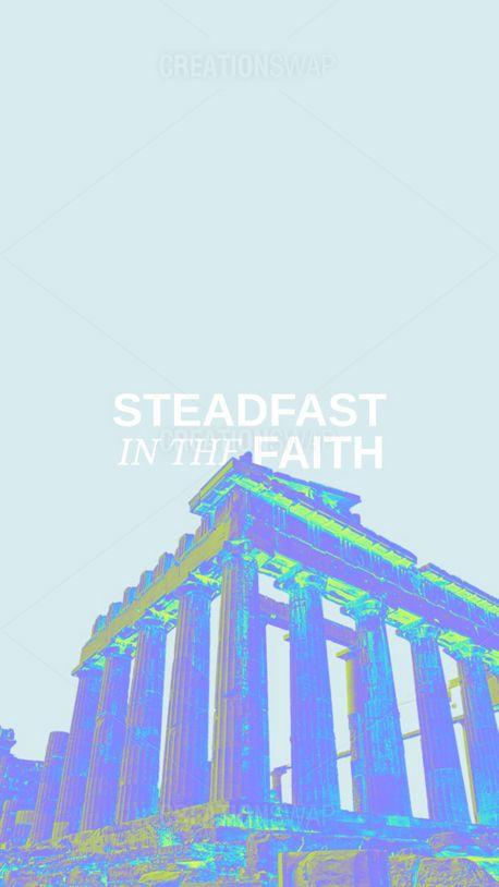 Steadfast in the faith (100902)