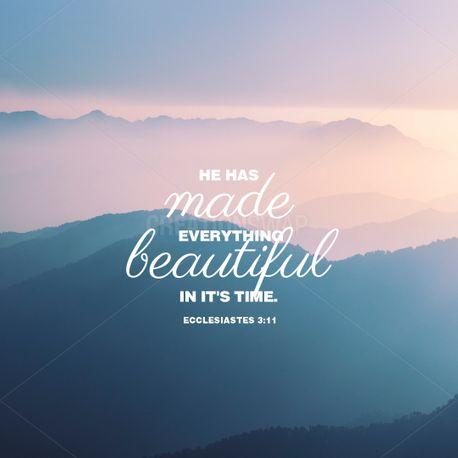Ecclesiastes 3:11 (100908)