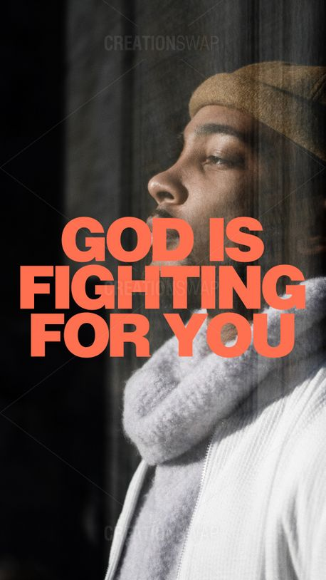 God is fighting for you (100912)