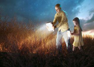 Shining Light of Bible