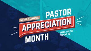Pastor Appreciation Slide