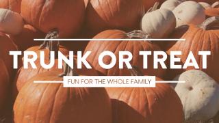 Pumpkin Film Trunk or Treat